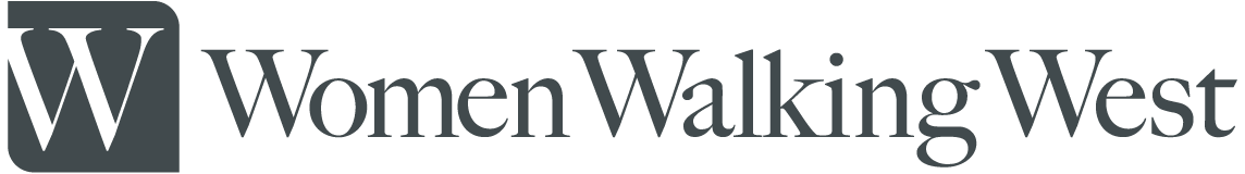 Women Walking West Logo